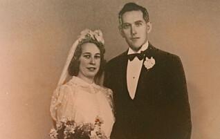 Tungtvannsheltens fallskjerm ble Maries brudekjole