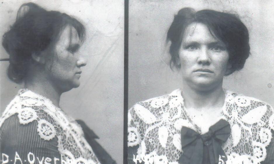 TRUE CRIME: Danske Dagmar Overby innrømmet at hun hadde drept 16 barn, men retten fant bare bevis for åtte av drapene. Hun kunne ikke gjøre rede for motivet som sto bak de ufølsomme handlingene. Foto: Politimuseet