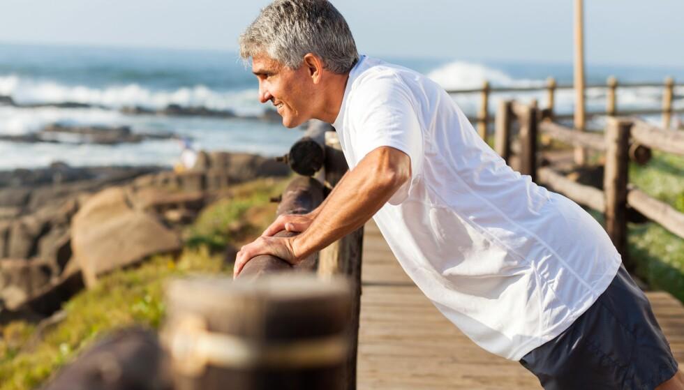 FRISKE ÅR: Kvinner lever fremdeles lenger enn menn, men får færre friske år på sine eldre dager enn menn, viser studie. Foto: Scanpix.