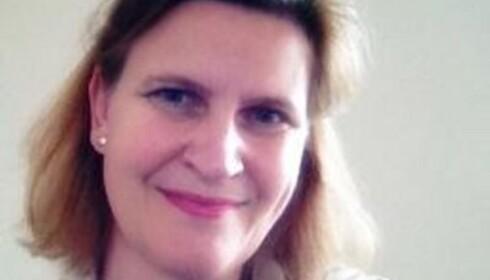 IKKE DIN SKYLD: Irma Rustad, generalsekretær i Foreningen mobbing i skolen, mener mange voksne føler skyld i at de ble mobbet. Foto: Privat.