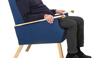 Denne stolen ser kanskje ordinær ut …