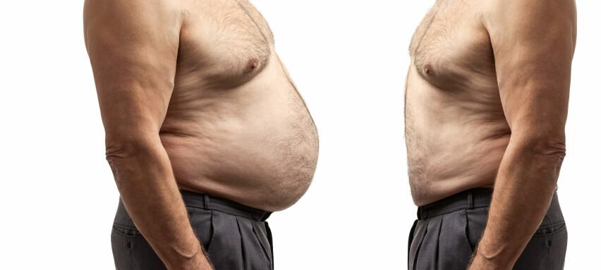 OPPOVER: Jo eldre du blir, jo større er sjansen for at kiloene kommer snikende. Foto: Scanpix.