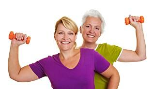 Styrketrening gjør selv 80-åringer yngre