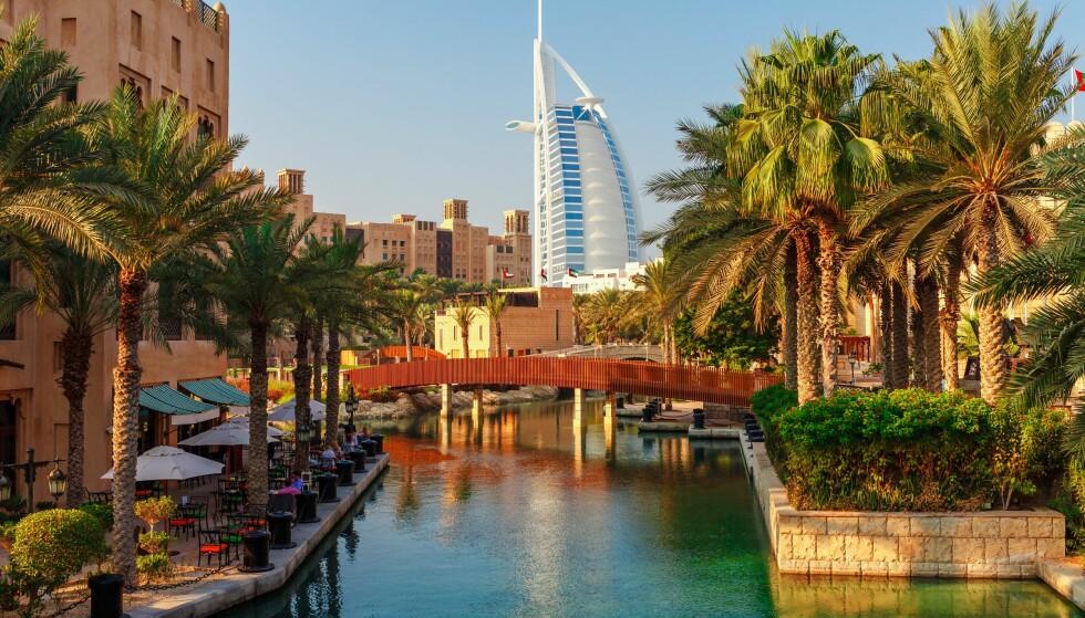 FOR VARMT: Dubai er ett av reisemålene som Aspengren anbefaler eldre å unngå. Foto: Scanpix.
