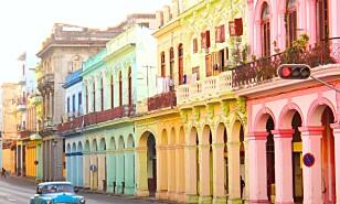 CUBA: Hva med en tur til fargerike Habana? Foto: Scanpix.