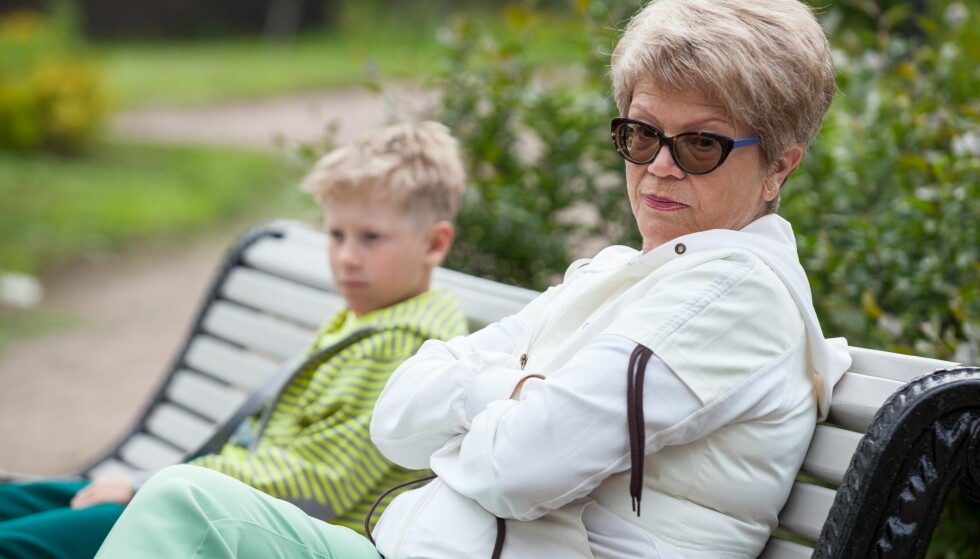 BRUDD I FAMILIEN: En skilsmisse mellom besteforeldre kan få flere vonde konsekvenser for barnebarna. Foto: Scanpix.
