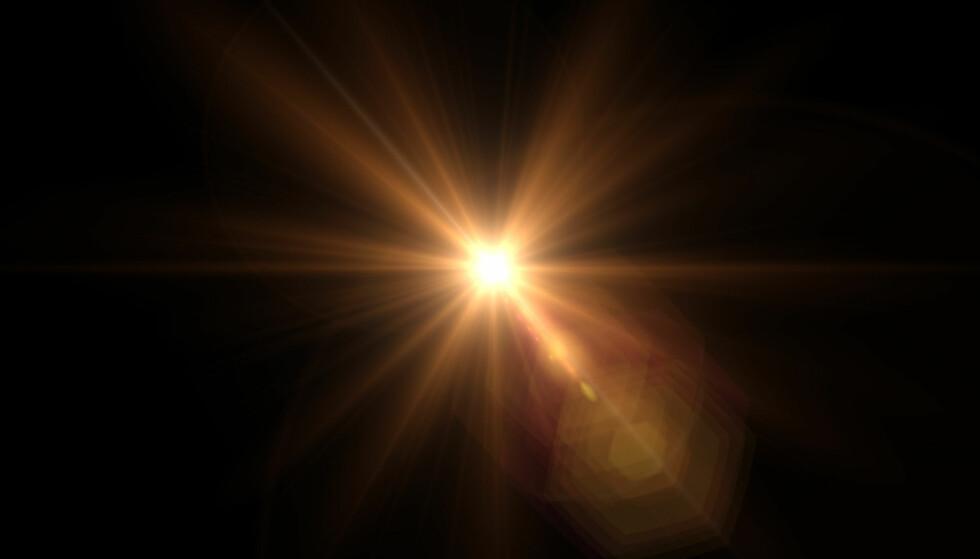 <strong>LYS I TUNNELEN:</strong> Noen pasienter husket et skarpt lys, lik solskinn, da de hadde en nær-døden-opplevelse. Foto: Scanpix.
