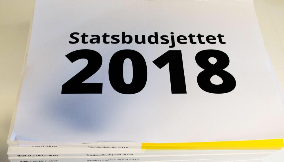 STATSBUDSJETTET 2018: Får flere konsekvenser for pensjonistene. Foto: Mariam Butt / NTB scanpix