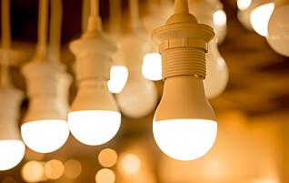 Du kan spare 90 prosent strøm med LED-lys