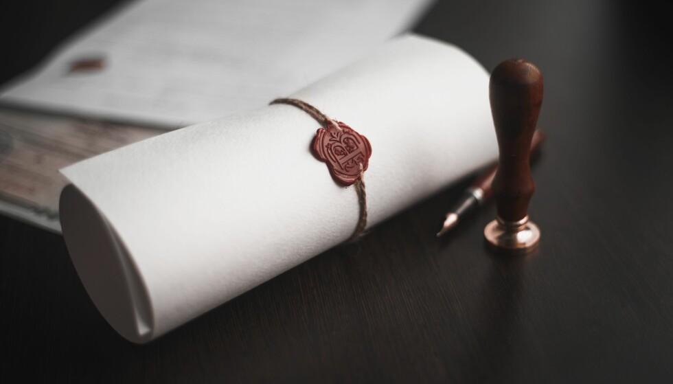 ARV: Advokaten anbefaler å opprette testament dersom det gis forskudd på arv til kun enkelte arvinger. Foto: Scanpix.