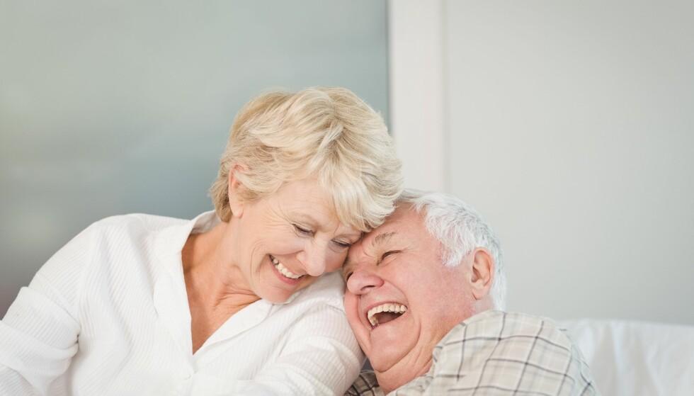 LYKKELIG ALDERDOM: Tidspunktet du velger å ta ut pensjonen din, har stor betydning for pensjonstilværelsen. Foto: Scanpix.