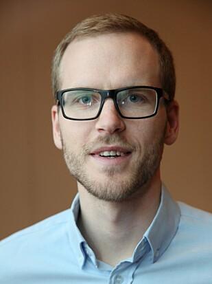 EKSPERT: Sindre Farstad, rådgiver pensjon hos Pensjonistforbundet. Foto: Pensjonistforbundet.