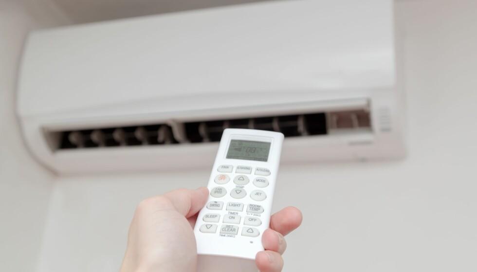 ENERGIVENNLIG: Varmepumpe er bare ett av mange hjelpemidler som er mer på å gjøre boligen hakket mer energivennlig ved å spare strøm. Foto: Scanpix