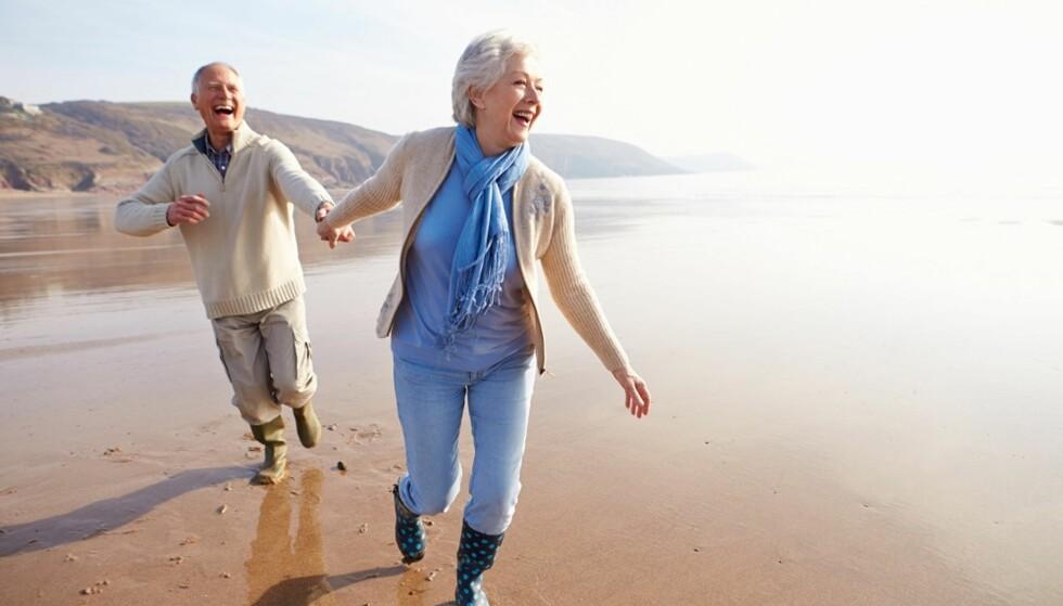 GODT LIV: Hemmeligheten til et langt og friskt liv er ikke så komplisert, ifølge forskerne. Foto: Scanpix.