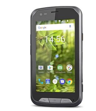 DORO: Det er også andre produsenter som har spesialisert seg på brukervennlige smarttelefoner for eldre, blant andre DORO. Foto: DORO.