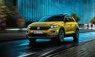 <strong>ANBEFALT:</strong> Volkswagen T-Roc er også blant ekspertenes favoritter. Foto: Produsenten.