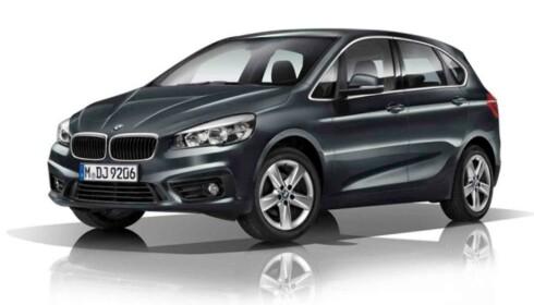 ANBEFALT: Ekspertene anbefaler også BMW 2-serien til eldre trafikanter. Foto: Produsenten.