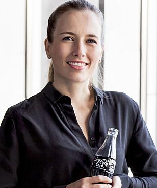BRUK SPORTSFLASKE: Det anbefaler Mette Vinther Talberg, kommunikasjonssjef hos Coca-Cola European Partners Norge. Foto: Coca-Cola.