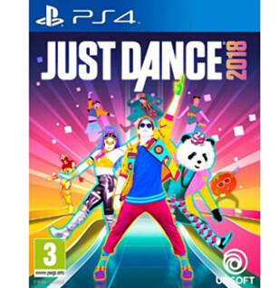 <strong>JUST DANCE:</strong> 2018-versjonen av treningsspillet. Foto: UBISOFT.