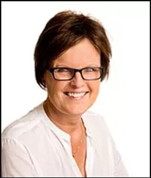 JORDMOR: Grethe R.Teigen ved jordmorkontoret MammaStork. Foto: MammaStork.