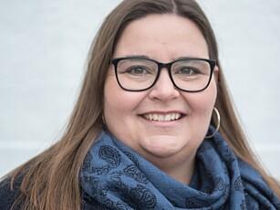 EKSPERT: Astrid Valen-Utvik jobber med ulike bedrifters satsing i sosiale medier. Foto: Privat.