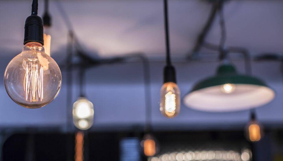 DYR STRØM?: Det er enkelt å finne frem til den billigste strømleverandøren og deretter bytte til den. Få tipsene her! Foto: Shutterstock