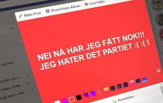 Kanskje den verste Facebook-tabben du kan gjøre