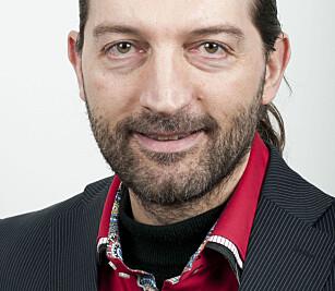 FORSKER PÅ SOSIALE MEDIER: Fulvio Castellacci, direktør ved TIK, Senter for teknologi, innovasjon og kultur, Universitetet i Oslo. Foto: UIO.