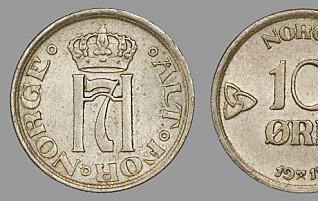 Dette er de gamle myntene i skuffen verdt