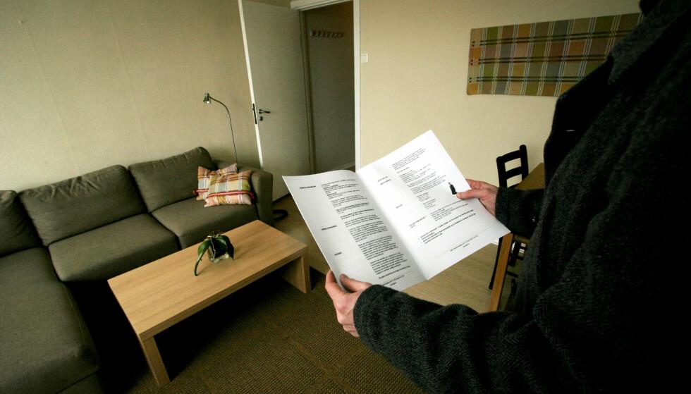 SLITER: Eldre som ikke eier bolig kan oppleve vanskeligheter med både å få leid leilighet, og få banklån. Foto: NTB Scanpix