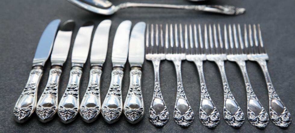 Vi prøvde å selge sølvtøyet vårt. Her er prisene vi fikk