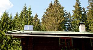IKKE STØRRELSEN DET KOMMER AN PÅ: Tenk batterikapasitet foran størrelse på anlegget, er rådet fra solcelle-eksperten. Foto: Colourbox