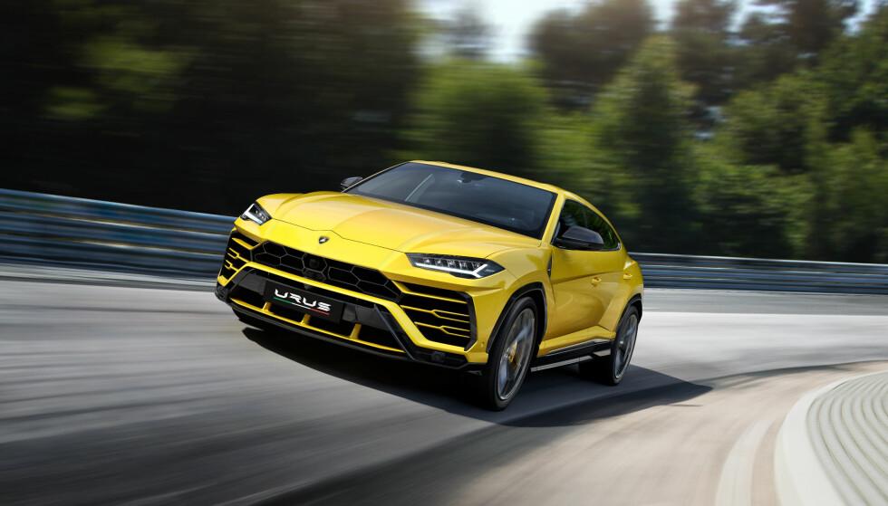 LAMBORGHINI: Redaktør i Bil24, Thomas Hildonen, ville gått for en Lamborghini Urus. Foto: Lamborghini