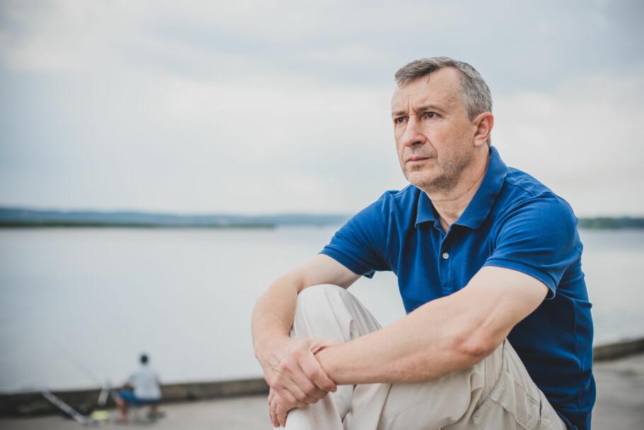 MANNENS OVERGANGSALDER: Flere menn kan kjenne på symptomer som tyder på tap av testosteron, noe som er vanlig hos menn i overgangsalderen. Illustrasjonsfoto: Scanpix.