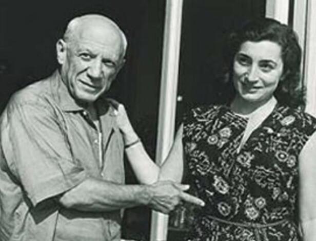 46 ÅRS ALDERSFORSKJELL: Den verdenskjente, spanske kunstneren Pablo Picasso (død 91 år gammel) var gift med blant andre Jacqueline Roque (død 59 år gammel). Foto: Viola.bz.