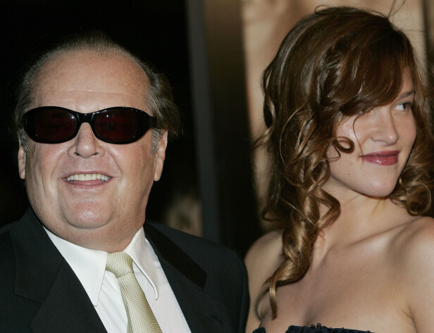 48 ÅRS ALDERSFORSKJELL: Den amerikanske skuespilleren Jack Nicholson (81) har gjennom livet blitt knyttet til en rekke unge kvinner. Ifølge amerikansk sladderpresse datet han for eksempel modell og skuespiller Paz de la Huerta (33) i 2006. Foto: Scanpix.