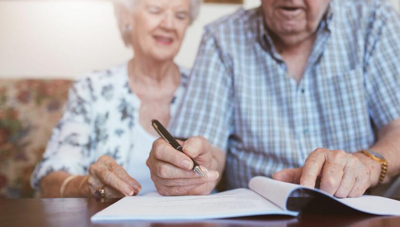 VANSKELIG: Arv kan ofte føre til konflikter i familien. Det kan være lurt å skrive et testament for å forebygge slikt. Foto: Shutterstock