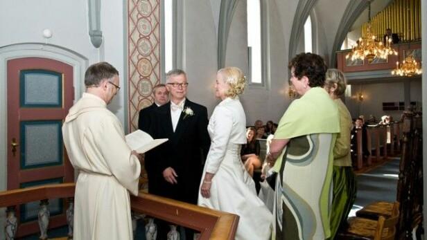 <strong>VIELSEN:</strong> I april 2012, tre uker etter Anne Guris frieri, ble hun og Sven Erik erklært gift. Foto: Privat.