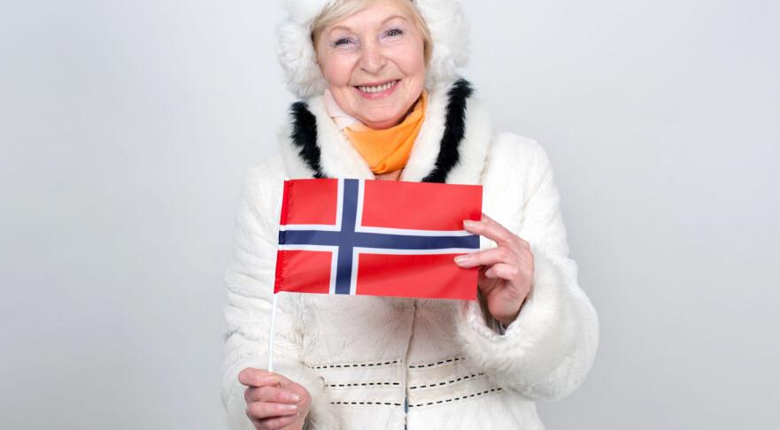 FINT Å VÆRE NORSK: Norge er det landet i verden som er best rustet til å ta vare på de eldre i fremtiden, viser internasjonal forskning. Foto: Scanpix.