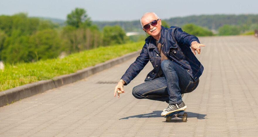 <strong>SUBJEKTIV ALDER:</strong> De fleste føler seg yngre enn sin egentlige alder. Foto: Shutterstock