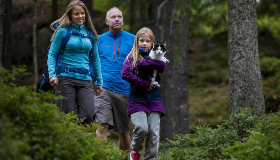 LIVET: Det er mulig at familien Oldebråten/Tjomsland flytter livet sitt lenger unna Oslo etter hvert. Foto: Tore Meek/NTB scanpix