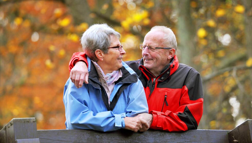 LEVER LENGER: Fysisk aktivitet, høy utdanning og et riktig kosthold er faktorer som kan gi flere en god alderdom, men mye er også flaks, sier forsker. Illustrasjonsfoto: Scanpix