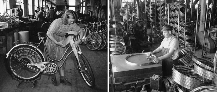 DBS: Den «beste» sykkel- fabrikken forsynte hele Norge med sykler, også konkurrentene. Foto: Sverre A. Børretzen / Aktuell / NTB Scanpix