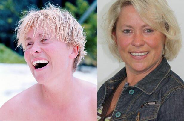 ROBINSON-METTE FØR OG NÅ: Mette Ulvestad var 35 år da hun deltok i sesong en av Robinsonekspedisjonen i 1999. Foto: Privat / TV3.