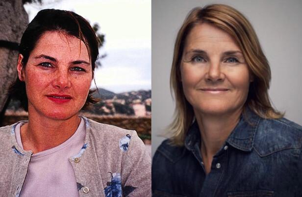 MULDVARPEN-KJERSTI FØR OG NÅ: Kjersti Nesbakk var 36 år gammel da hun deltok i seong en av Muldvarpen i 2000. Foto: Privat / TVNorge.