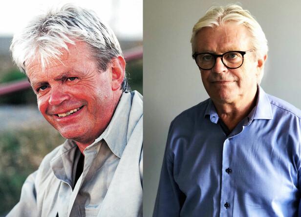 71 GRADER NORD-JON FØR OG NÅ: Jon Sverre Lund var 49 år da han deltok i sesong en av 71 grader nord i 1999. Foto: TVNorge / Privat .