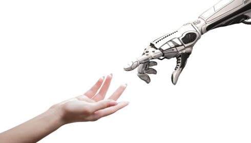 Ingen av ekspertene er bekymret for at maskiner skal ta over verden. Foto: Shutterstock