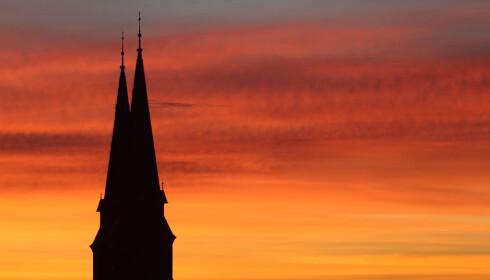 <strong>WIEN:</strong> Et godt utgangspunkt for nattog i flere retninger. Her Familienkirche i en tidlig morgen i oktober. FOTO: Heinz-Peter Bader, Reuters