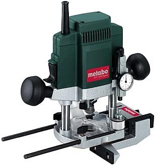 FRES: Denne fresen fra Metabo koster rundt 5000 kroner, men disse maskinene kommer i alle prisklasser, fra under 1000 kroner og oppover. Foto: Produsenten