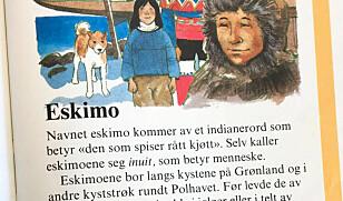 Eskimo skal egentlig betegnes som inuit i dag. Foto: Camilla Hjelmeseth